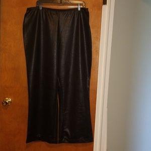 Shiny Wide legged Trouser 22/24